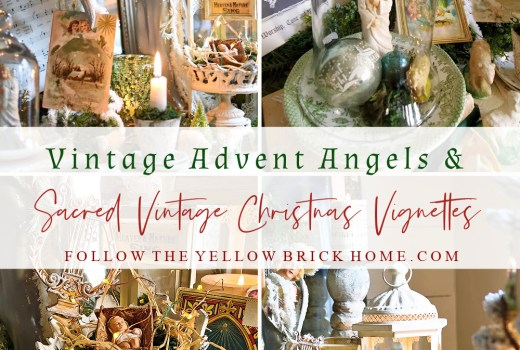 Vintage Advent ideas Advent wreath ideas