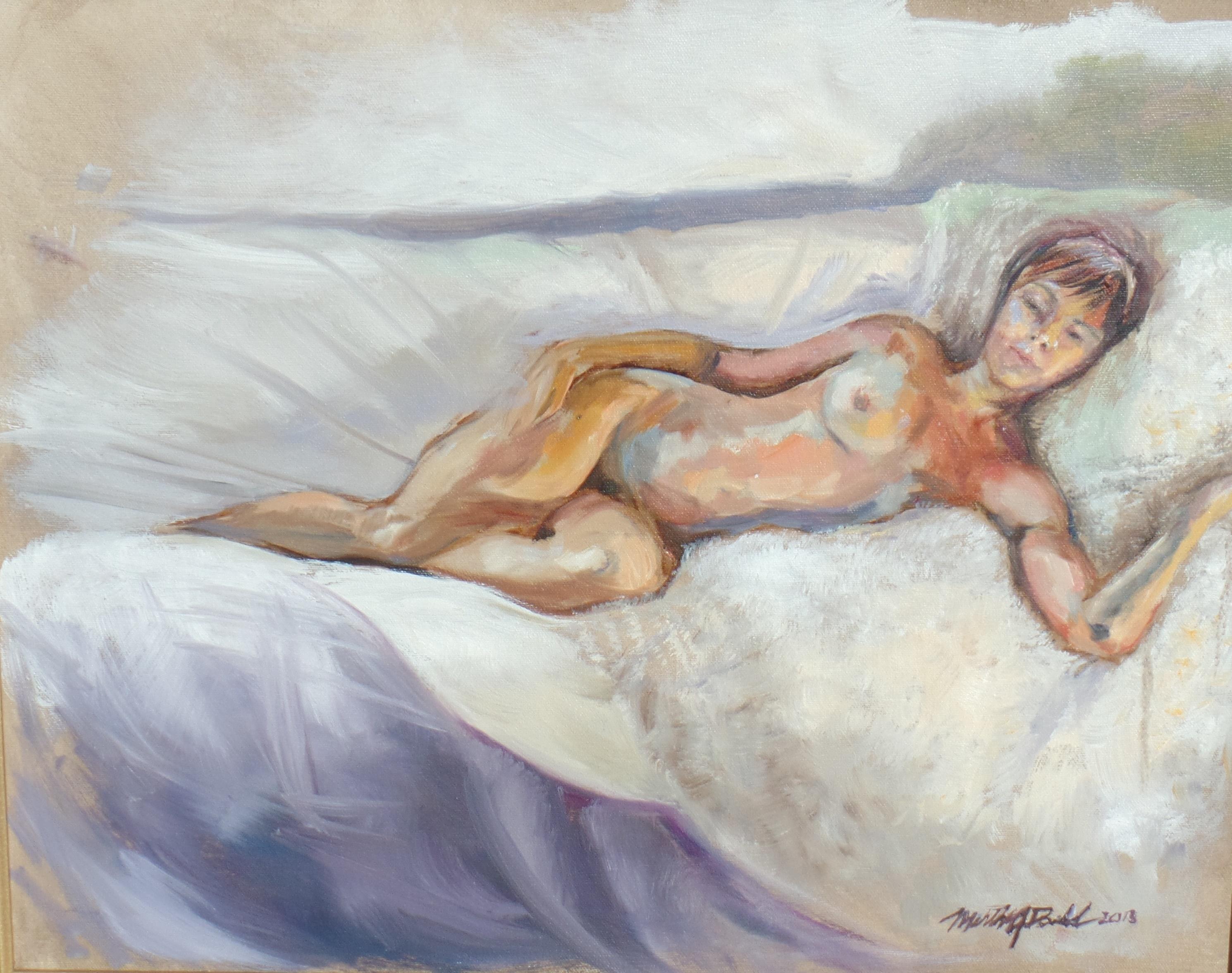 Reclining Nude 16 x 20