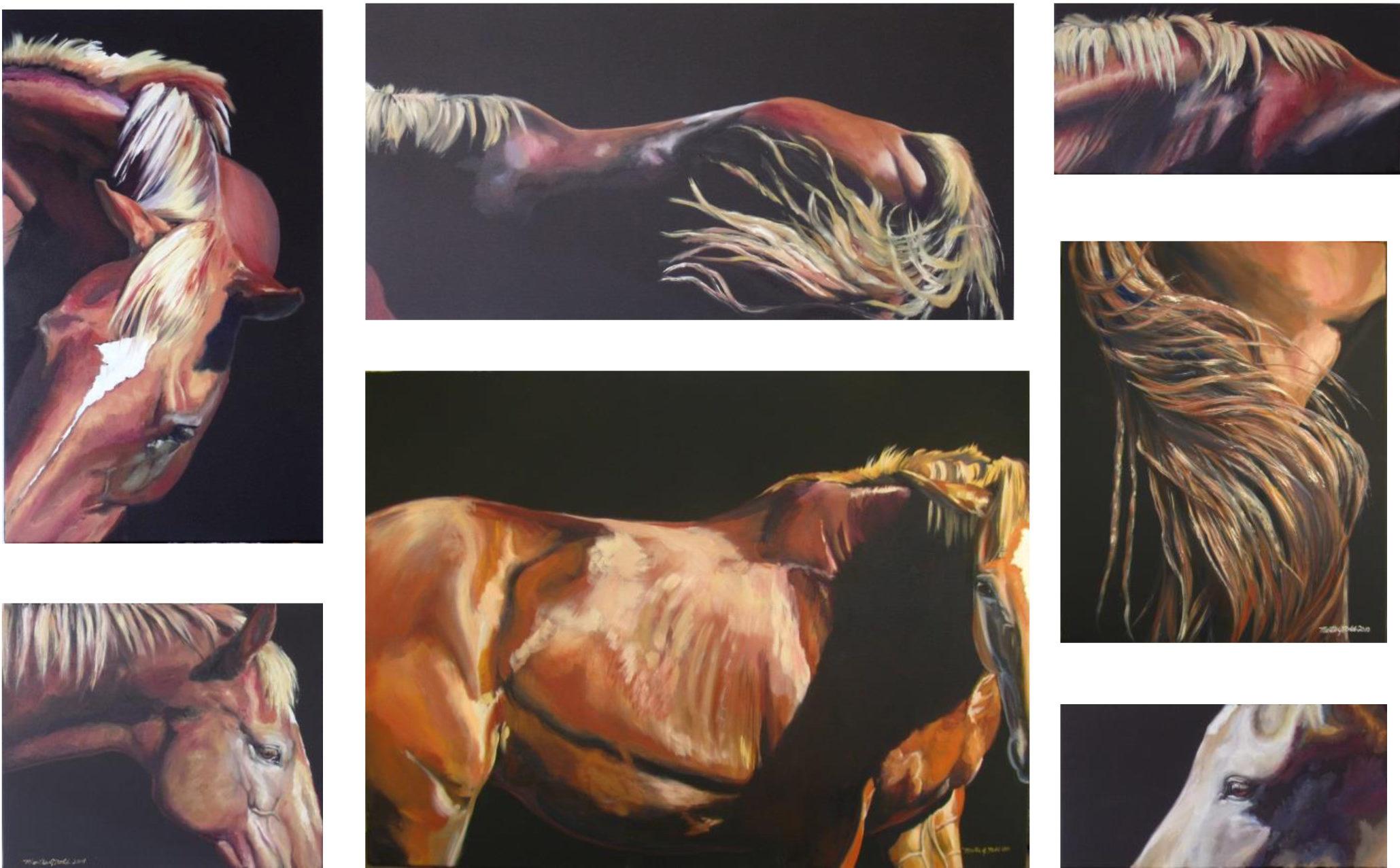 Multi Panel Canvas Painting