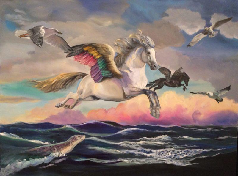 fantasy horse painting