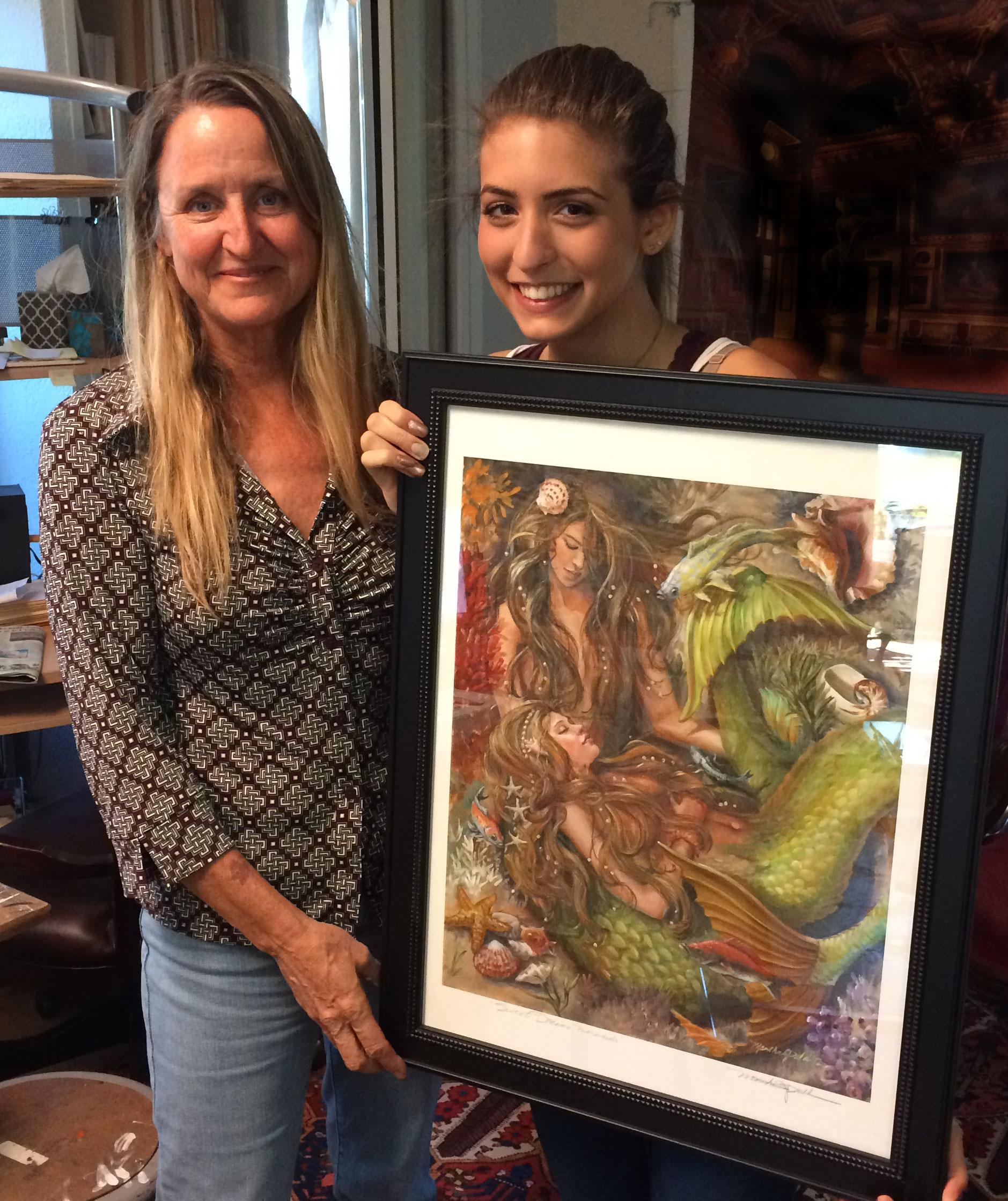"Jessica Mills wins ""Sweet Dreams, Mermaids""!"