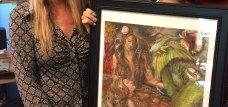 winner sweet dreams mermaids art print by martha dodd