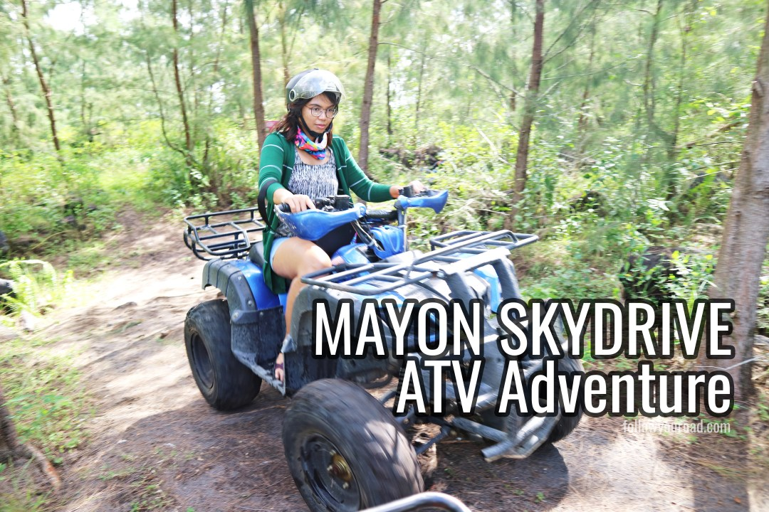 mayon skydrive atv adventure albay