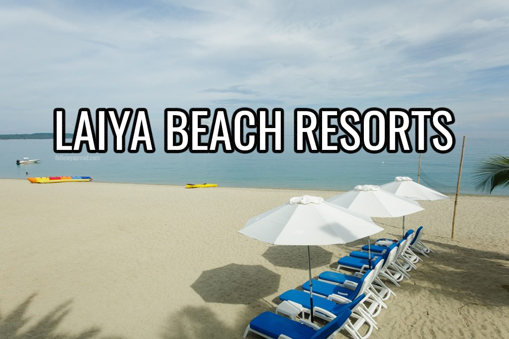laiya beach resorts