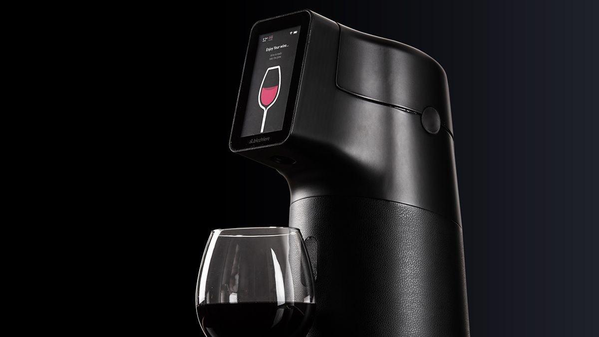 Albicchiere dispensador de vino