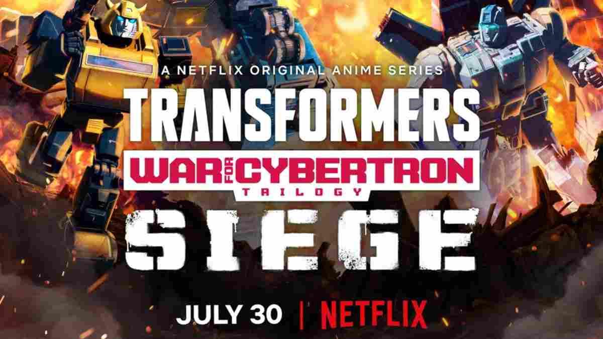 Netflix transformers trilogia