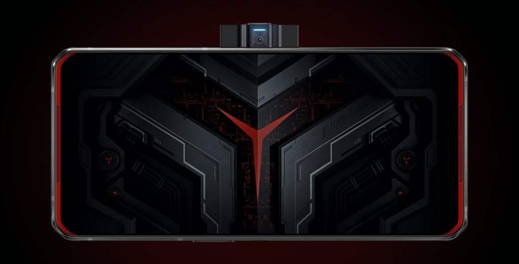 sistema pop up Lenovo legion