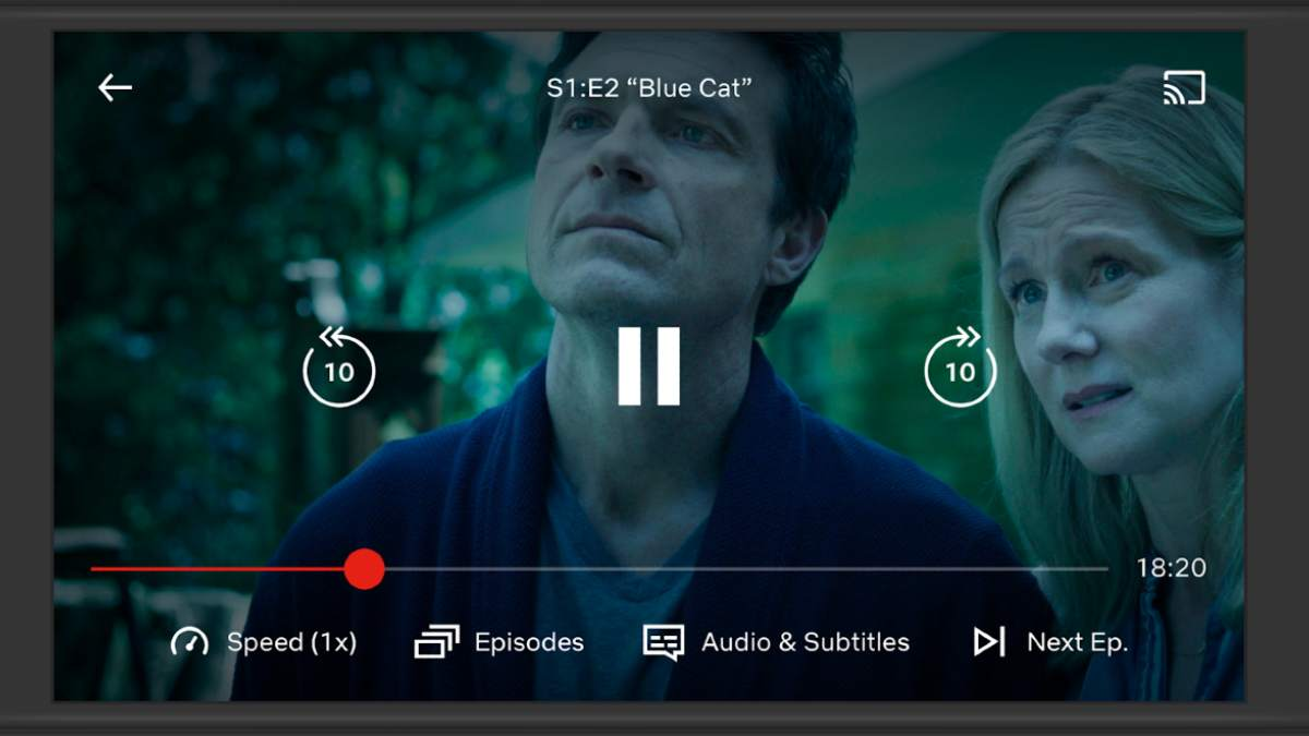 Netflix control de velocidad