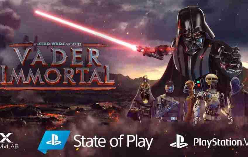 PS VR Vader Immortal