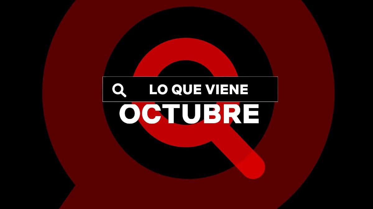 Netflix Colombia octubre