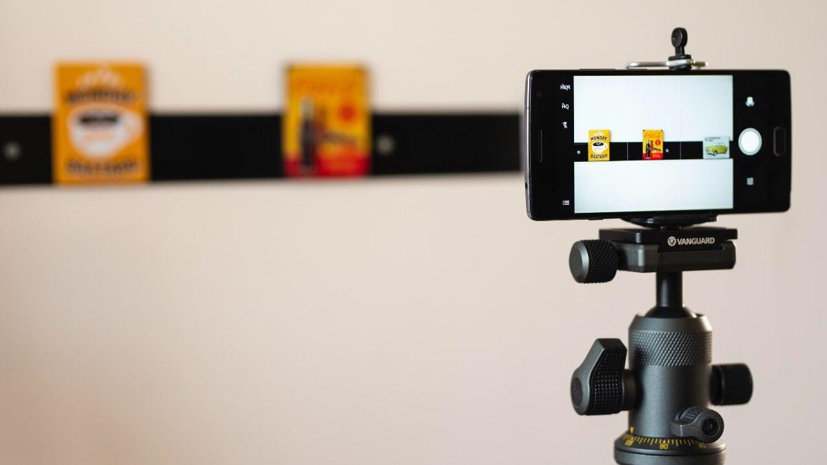 teléfono webcam