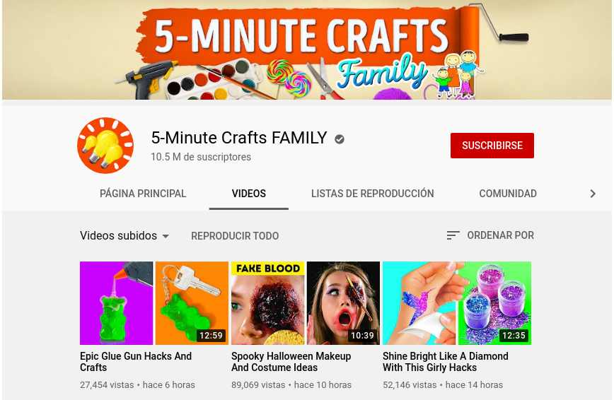 5-Minute Crafts FAMILY