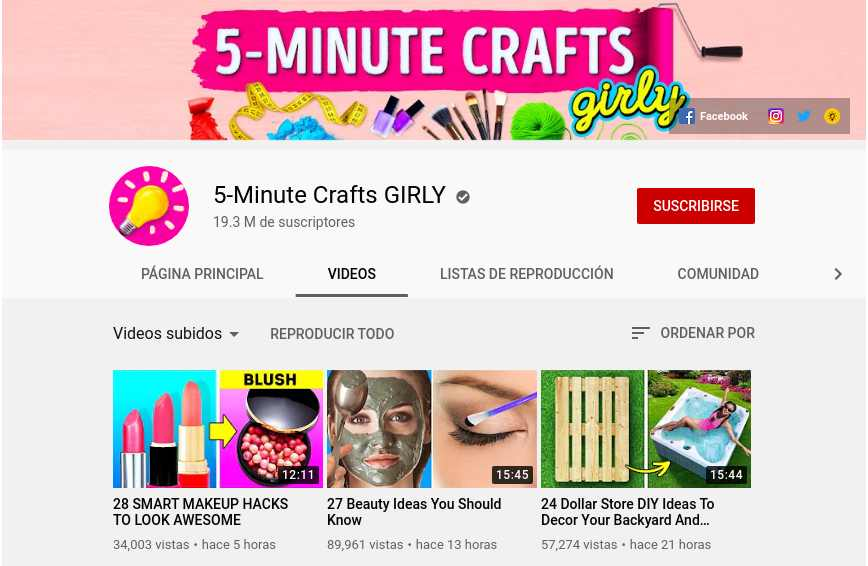 5-Minute Crafts GIRLY