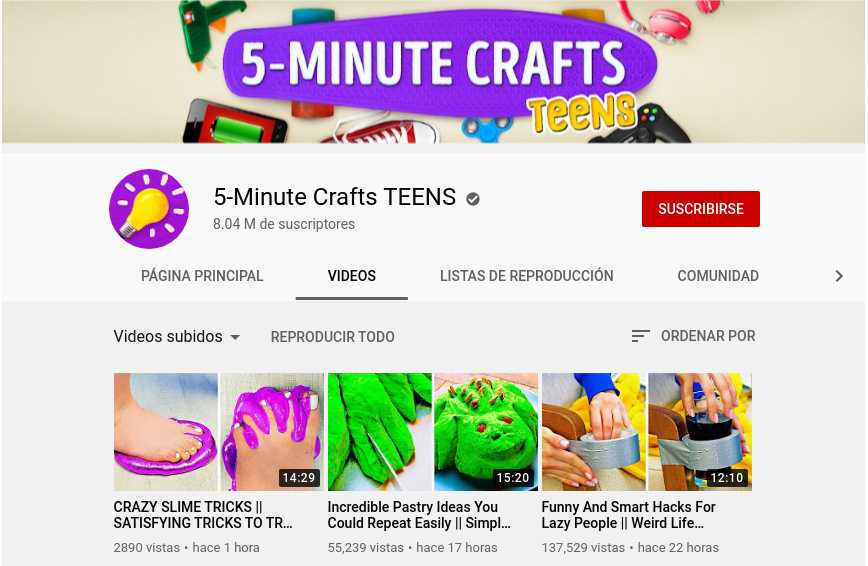 5-Minute Crafts TEENS
