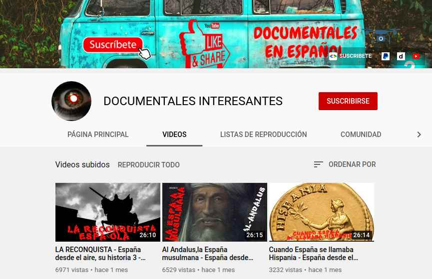 Documentales Interesantes