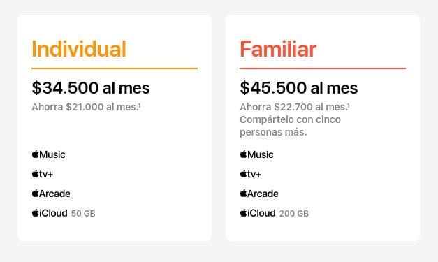 planes Apple One en Colombia
