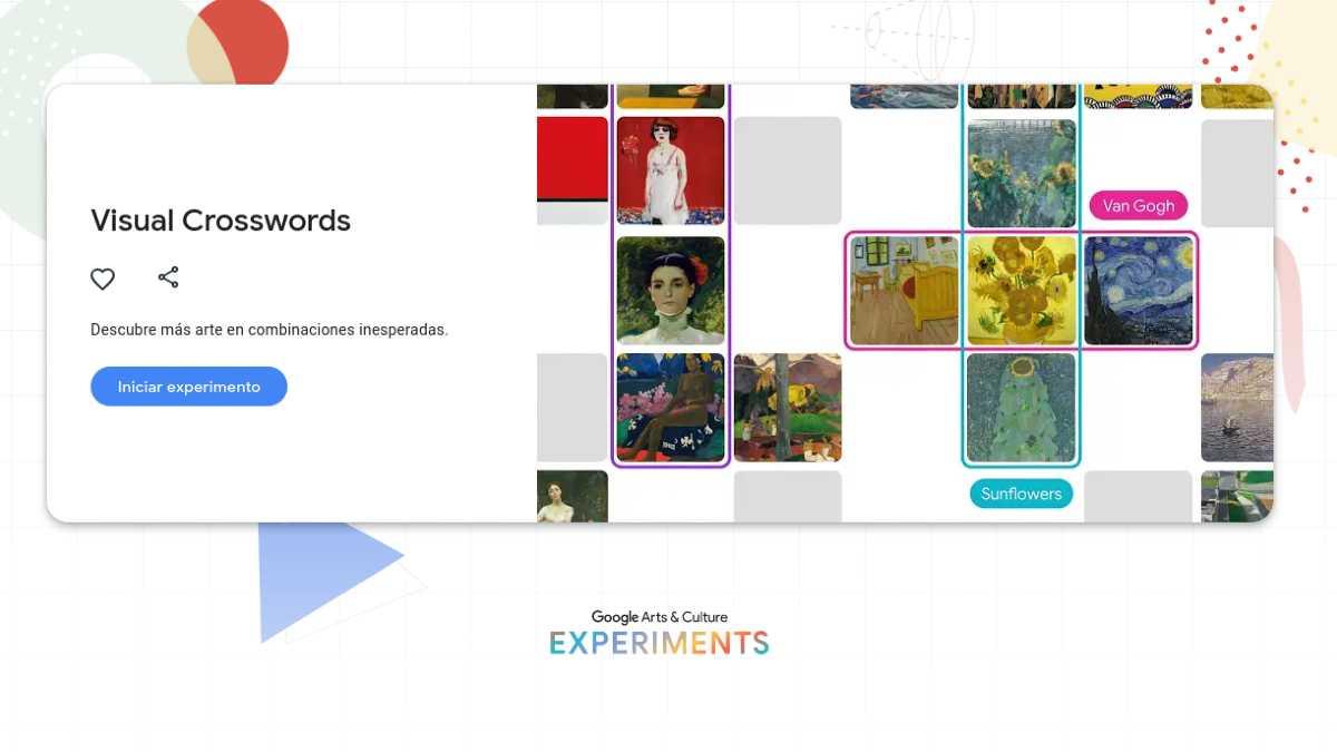 Crucigramas Visuales Google Arts & Culture
