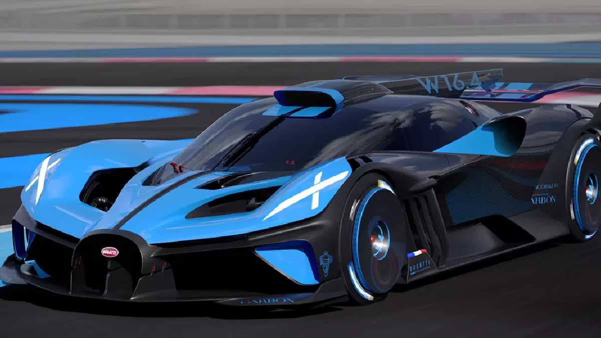 Bugatti bolide impreso 3d