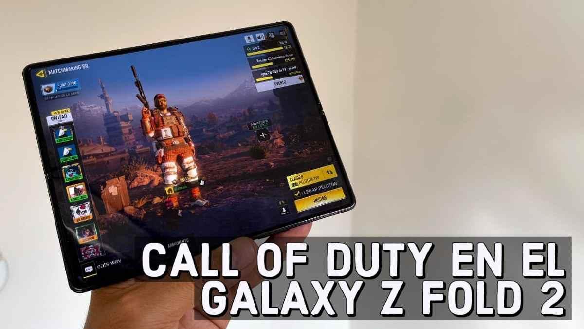 rendimiento Galaxy Z Fold 2