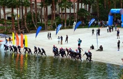 XTERRA Pro swim start.