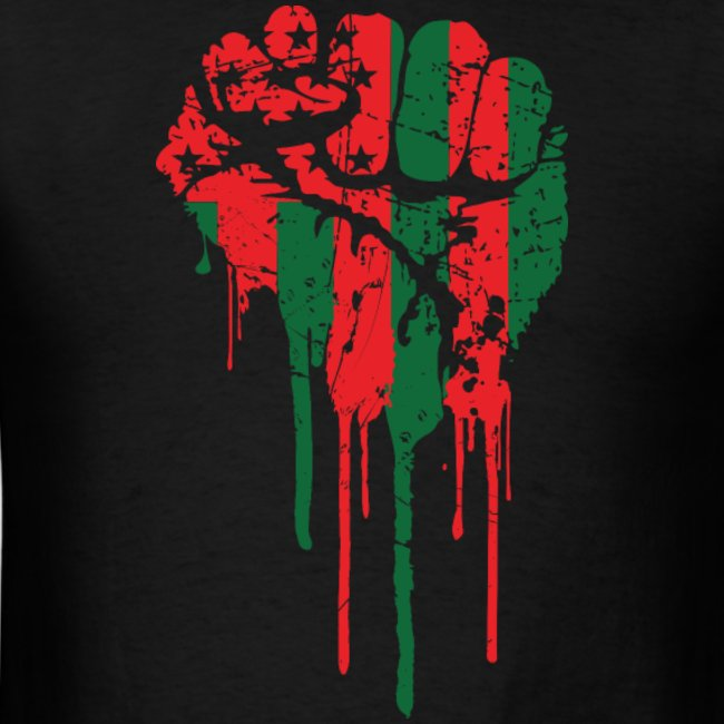 up-you-mighty-race-accomplish-what-you-will-the-red-black-and-tees-black-power-fist-tee-is-a-rally-call-for-pan-african-empowerment-lets-get-free-high-quality-100-cotton-t-shirt