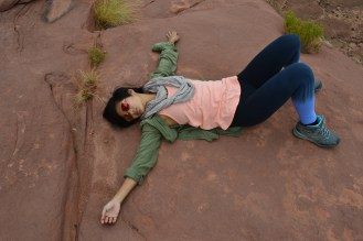 Jacinta passed out