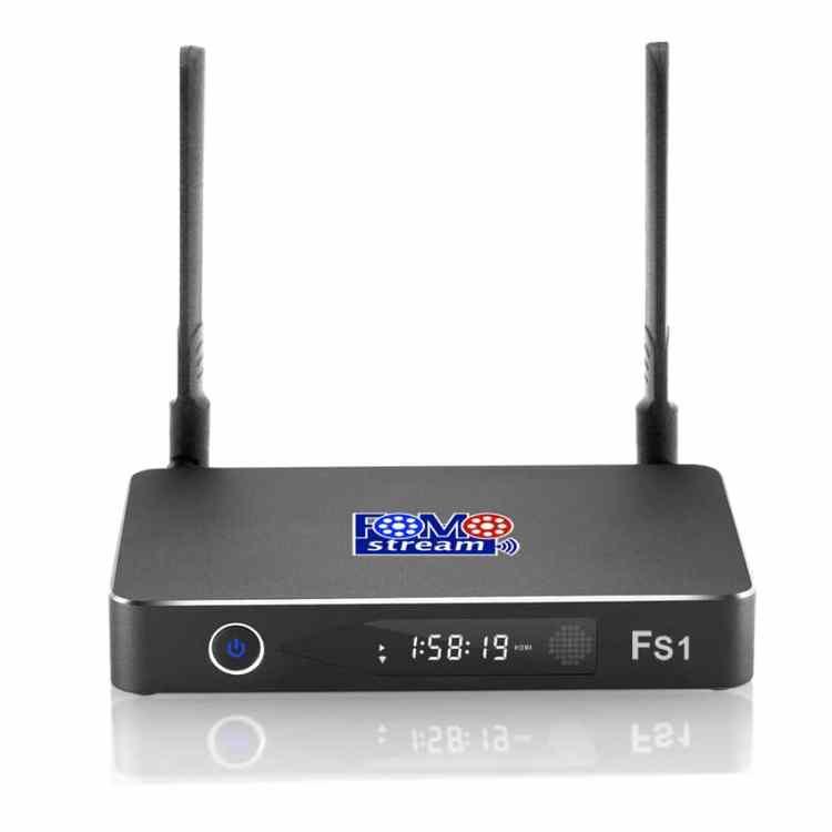 FOMOstream® FS1 Android TV Box