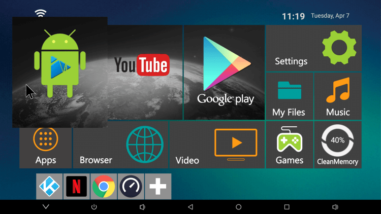 Fs2 Hexa-Core Android Home Screen