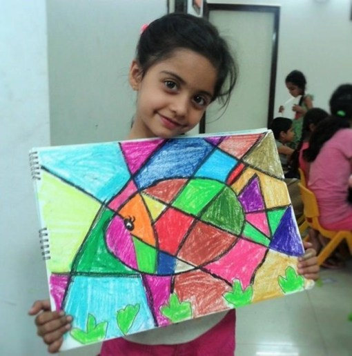 artist-sakshi-fish-color