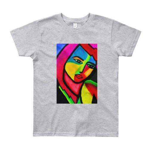modern art youth tshirt