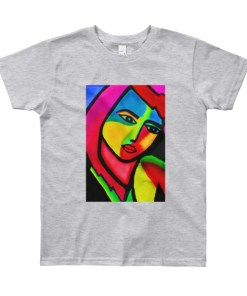 modern art youth tshirt