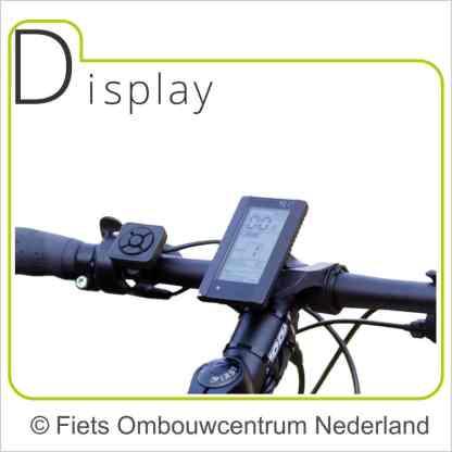 Ombouwset Middenmotor Bafang BBS Display 03