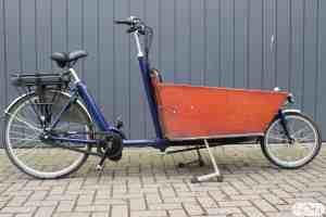 Bakfiets.nl Cargo Long met Bafang BBS ombouwset