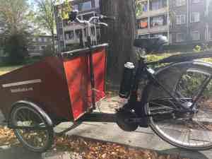Bakfiets.nl Cargo Trike ombouwen tot ebike met Pendix eDrive 0346