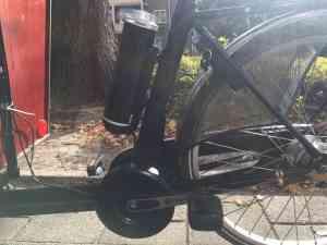 Bakfiets.nl Cargo Trike ombouwen tot ebike met Pendix eDrive 0347