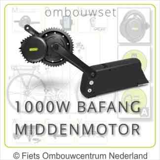 Ombouwset met 1000W Bafang Middenmotor Bafang BBSHD Frameaccu 01