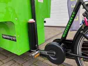 Workcycles De Redding bakfiets elektrisch maken met Pendix eDrive Middenmotor FON Arnhem 1869