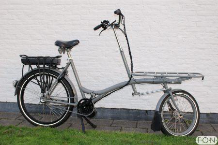 Kronan transportfiets met Bafang BBS ombouwset FON Arnhem