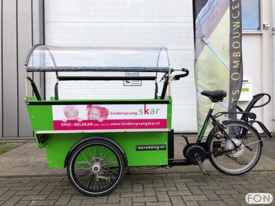 Workcycles De Redding bakfiets elektrisch maken met Pendix eDrive Middenmotor FON Arnhem 1866