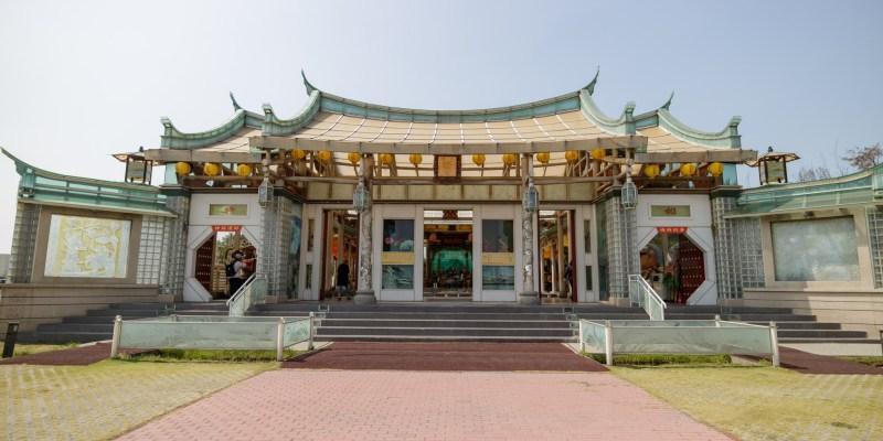 彰化鹿港景點「台灣護聖宮玻璃媽祖廟」超有特色玻璃廟宇