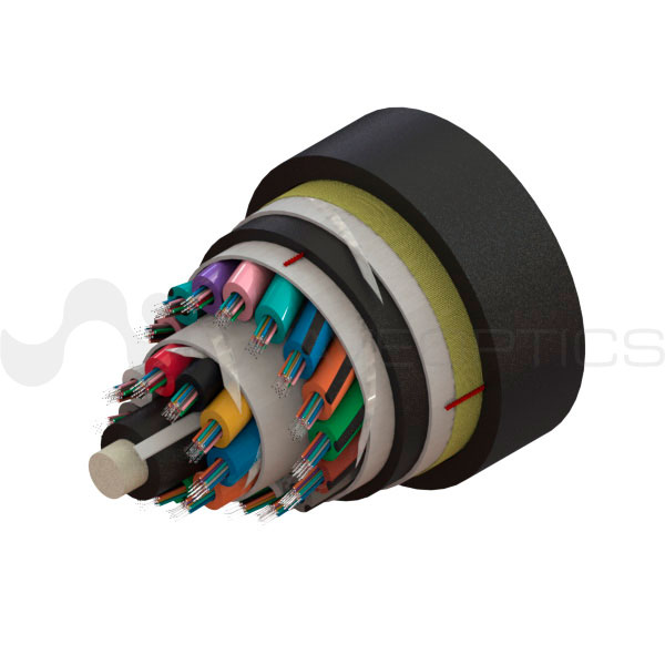 Double-Jacket ADSS Cable 288 Fibers