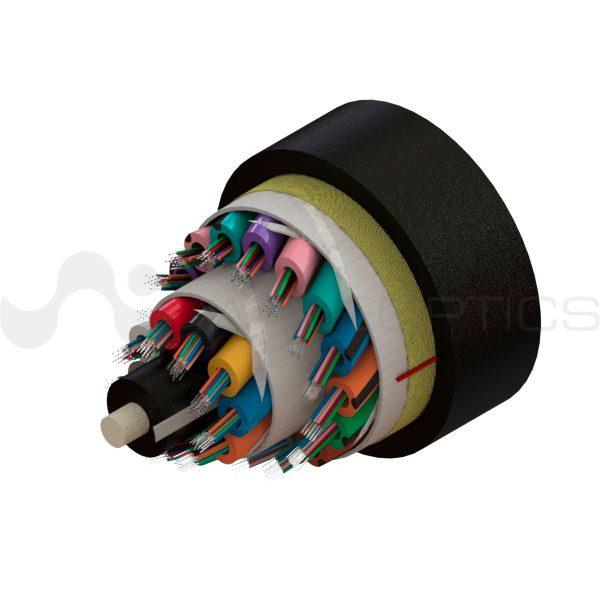 Single Jacket ADSS Cable 288 fibers