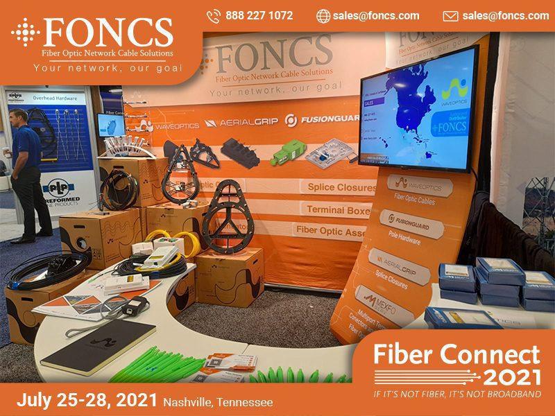FONCS booth Fiber Connect 2021
