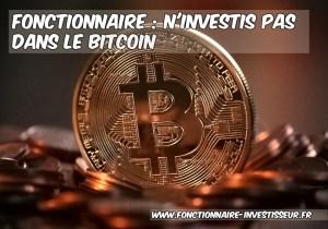 bitcoin ne pas investir