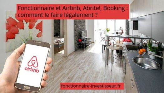 fonctionnaire airbnb abritel booking