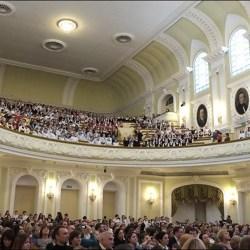 В Большом Зале Консерватории прошел концерт, посвященный 180-летию со дня рождения П.И.Чайковского