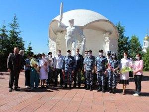Поздравление медицинских сотрудников ОМОН ГУ Росгвардии по г. Москве