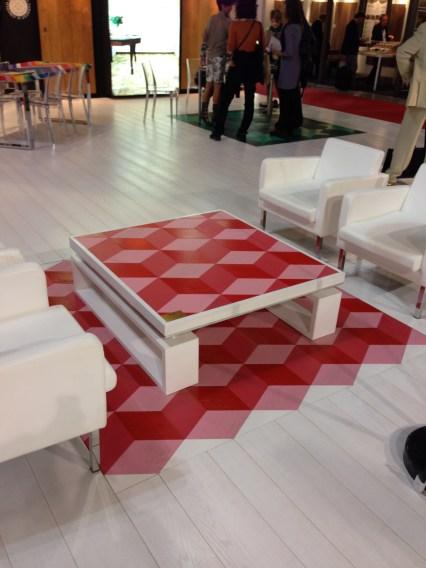 Made Mosaico Wood Table Inlay