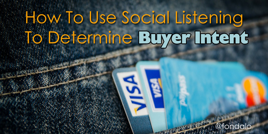 How To Use Social Media Listening For Buyer Intent