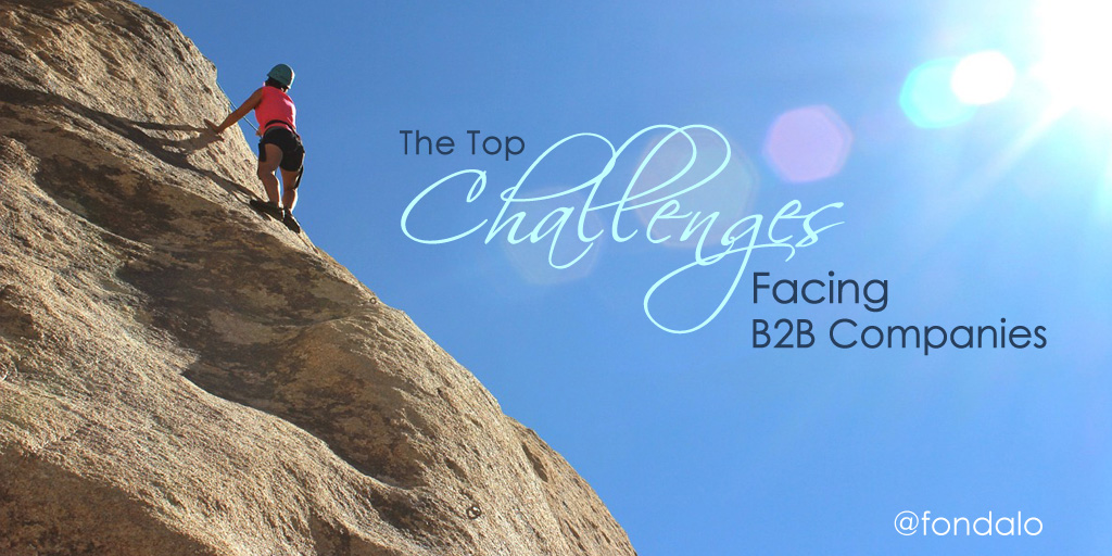 Surprising Top Challenges Facing B2B Companies